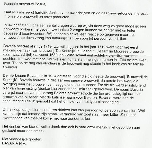 antwoord klachtenbrief Antwoord Klachtenbrief | gantinova