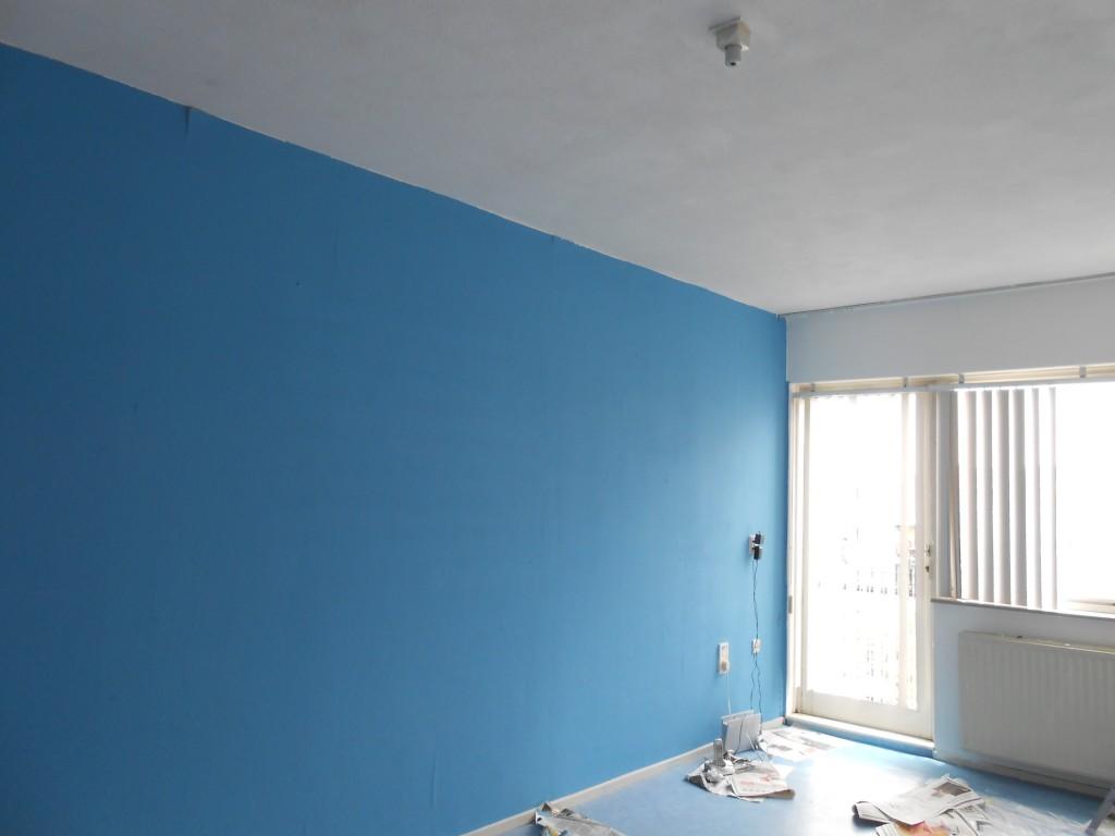 Wat ik heb geleerd van twee dagen verven laura denkt - Kleur blauwe verf ...