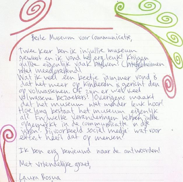 Laura's brieven: de schandpaal deel 2 | Laura denkt