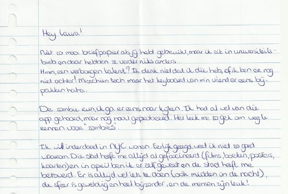 is een meisje dat graag in New York zou willen wonen. Maar hoe ...: www.lauradenkt.nl/2012/11